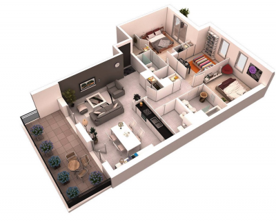 Thiết kế nội thất chung cư cao cấp - Thế nào là đẹp?