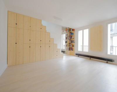Cách bài trí giúp tăng diện tích cho căn nhà siêu nhỏ chỉ 32m2