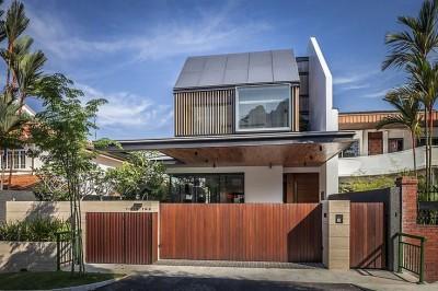 Nhà đẹp - Đón ánh sáng tự nhiên với kiến trúc độc đáo