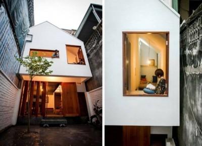 Lạ mắt với kiến trúc độc đáo ngôi nhà 300 triệu tại Hà Nội
