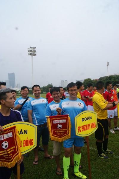 FC Big Way Vina hủy diệt đối thủ, FC Báo Thể thao Việt Nam chia điểm