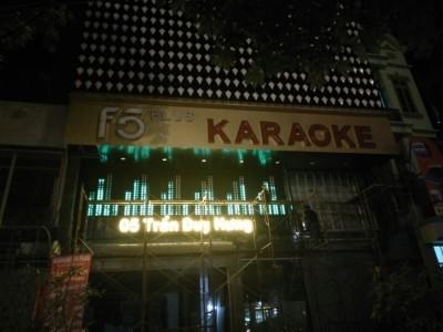 Thiết kế thi công phòng karaoke số 5 Trần Duy Hưng