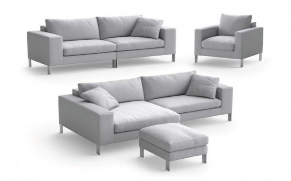 Sofa Nỉ 2.5 Chỗ 5087