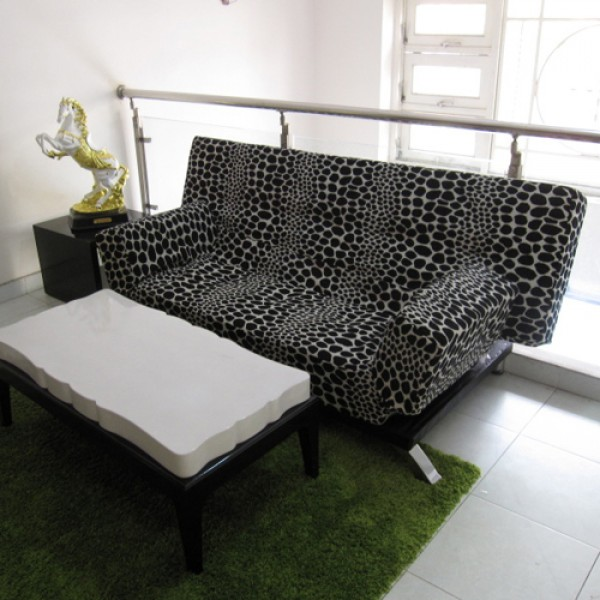 Sofa Bed Cao Cấp Màu Đen
