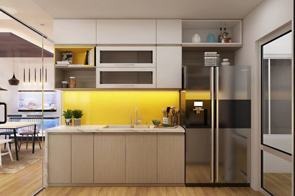 Thiết kế thi công chung cư nhà anh Dũng - Golden West