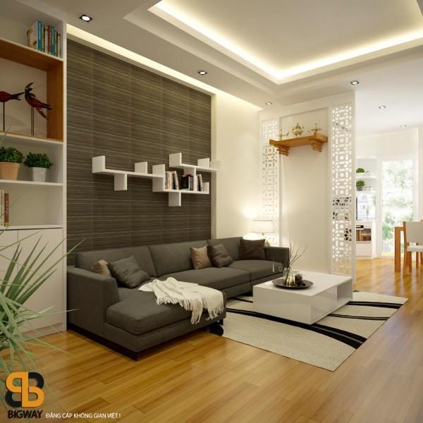 Thiết kế và thi công chung cư Anh Tiến
