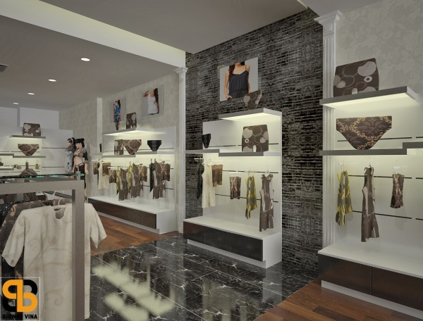 Thiết kế và thi công showroom Narsis